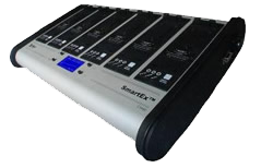Smartex 6- Bay Battery Charger
